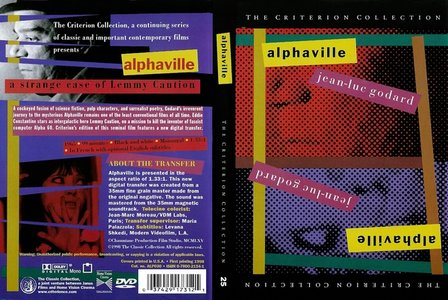 Alphaville (1965) [The Criterion Collection #25 - Out Of Print]