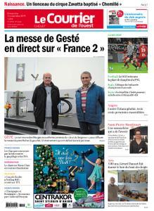 Le Courrier de l'Ouest Cholet – 03 novembre 2019
