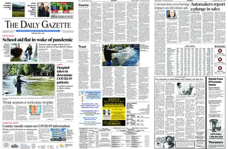 The Daily Gazette – April 02, 2020
