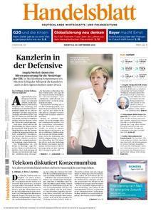 Handelsblatt - 06. September 2016