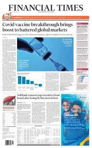 Financial Times Asia - November 10, 2020
