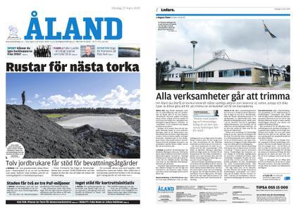 Ålandstidningen – 27 mars 2019