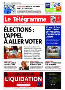 Le Télégramme Brest Abers Iroise – 11 mars 2020