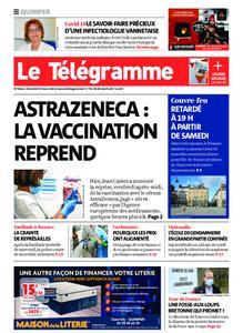 Le Télégramme Quimper – 19 mars 2021