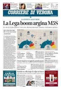 Corriere di Verona - 6 Marzo 2018