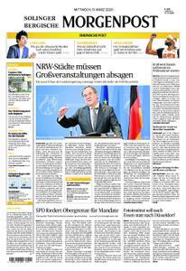 Solinger Morgenpost – 11. März 2020