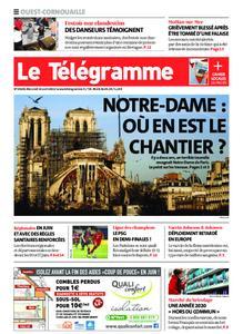 Le Télégramme Ouest Cornouaille – 14 avril 2021