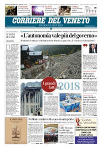Corriere del Veneto Padova e Rovigo – 30 dicembre 2018