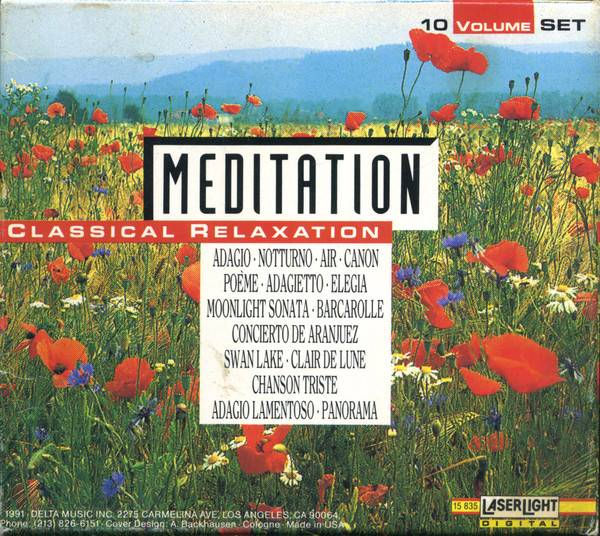 VA - Meditation: Classical Relaxation (10 CD Box-Set) (1991) [Repost]