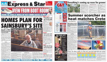 Express and Star City Edition – June 26, 2018