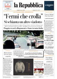 la Repubblica - 25 Novembre 2019