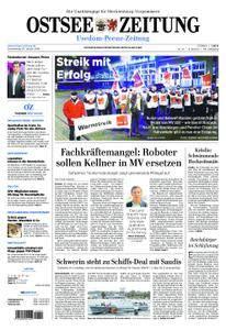 Ostsee Zeitung Wolgast - 25. Januar 2018