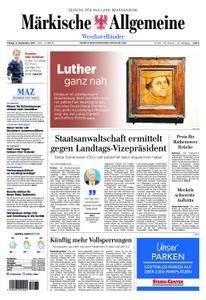 Märkische Allgemeine Westhavelländer - 08. September 2017
