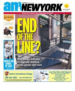 AM New York - January 25, 2018