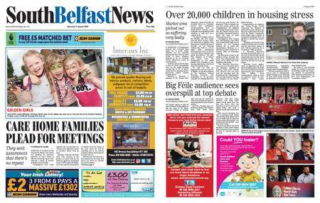 South Belfast News – August 09, 2018
