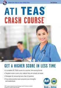 ATI TEAS Crash Course® Book + Online (Nursing Test Prep), 3rd Edition