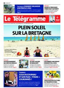 Le Télégramme Brest Abers Iroise – 18 juillet 2021