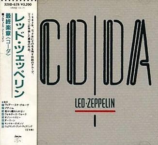 Led Zeppelin - Coda (1982) [32XD-629, Japan 1st Press, 1987]