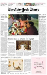 International New York Times - 10 July 2020