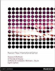 Research Methods: Pearson New International Edition: A Process of Inquiry [Repost]