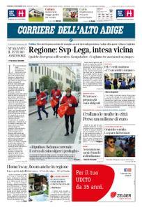 Corriere dell'Alto Adige – 18 novembre 2018