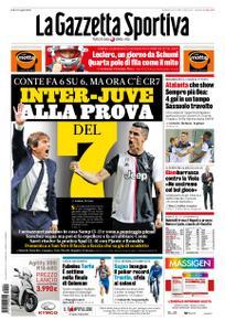 La Gazzetta dello Sport Roma – 29 settembre 2019