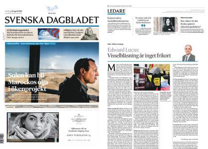 Svenska Dagbladet – 20 april 2019