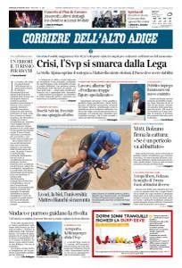 Corriere dell'Alto Adige - 20 Agosto 2019