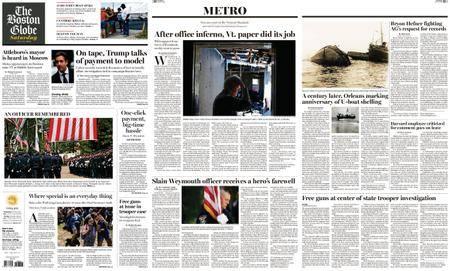 The Boston Globe – July 21, 2018