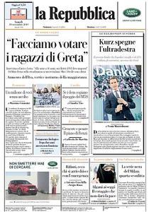 la Repubblica - 30 Settembre 2019