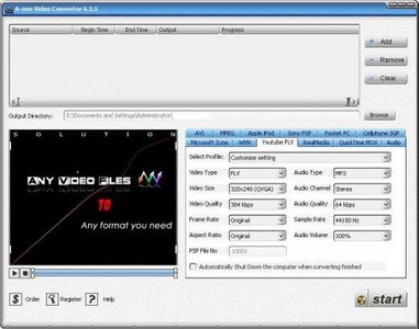 A-one Video Convertor 6.3.5