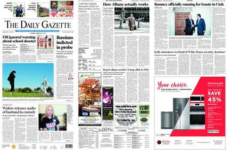 The Daily Gazette – February 17, 2018