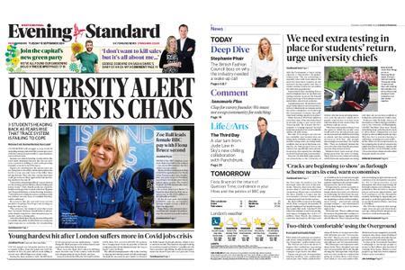 London Evening Standard – September 15, 2020