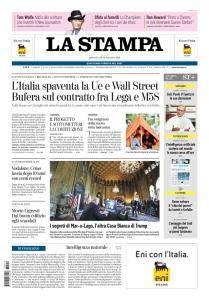 La Stampa Torino Provincia e Canavese - 16 Maggio 2018