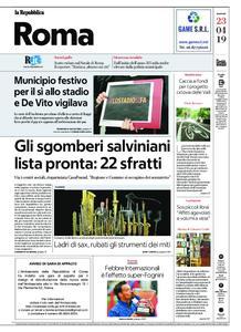 la Repubblica Roma – 23 aprile 2019
