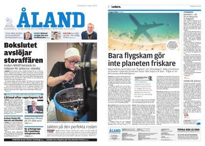 Ålandstidningen – 13 mars 2019