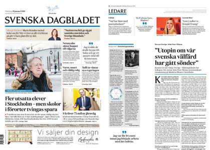 Svenska Dagbladet – 28 januari 2019