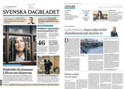 Svenska Dagbladet – 12 september 2019