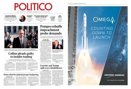 Politico – October 02, 2019