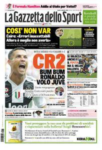 La Gazzetta dello Sport Sicilia – 17 settembre 2018