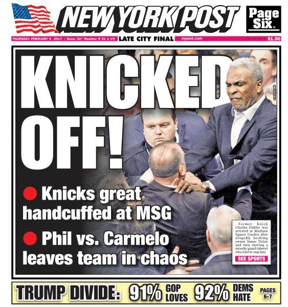 New York Post - February 9, 2017