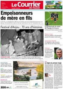Le Courrier de l'Ouest Nord Anjou – 08 juin 2019