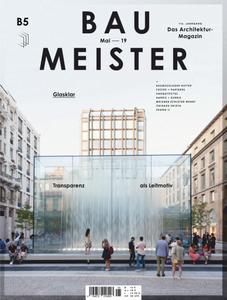 Baumeister - Mai 2019