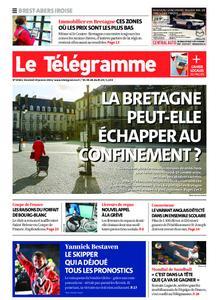 Le Télégramme Brest Abers Iroise – 29 janvier 2021