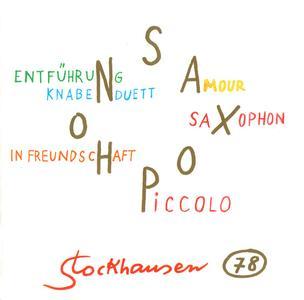 Karlheinz Stockhausen - Saxophon (2005) {Stockhausen-Verlag No. 78}