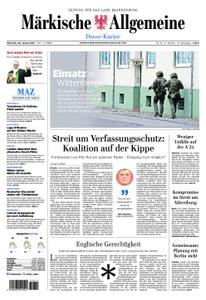 Märkische Allgemeine Dosse Kurier - 30. Januar 2019