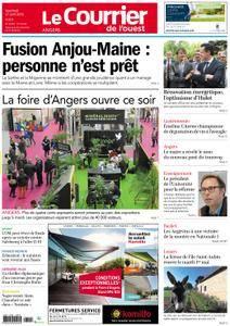 Le Courrier de l'Ouest Angers - 27 avril 2018