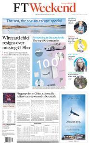 Financial Times Europe - June 20, 2020