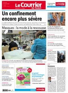 Le Courrier de l'Ouest Cholet – 21 mars 2020