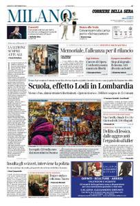Corriere della Sera Milano – 15 dicembre 2018
